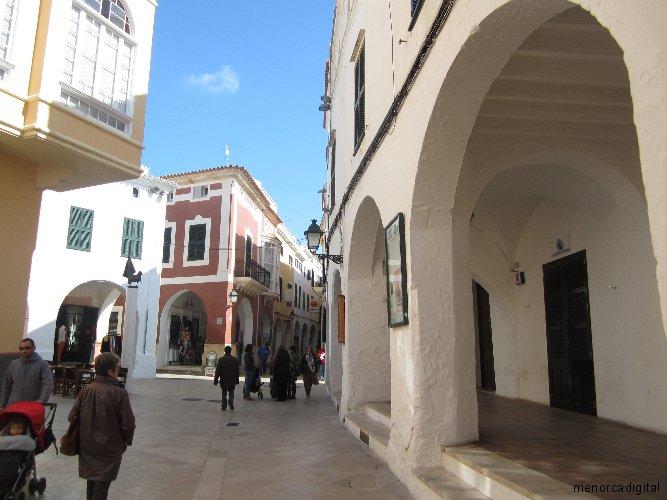 Ses Voltes, Ciutadella de Menorca