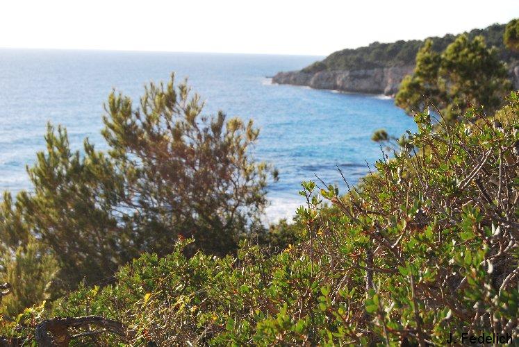 costa sur de menorca