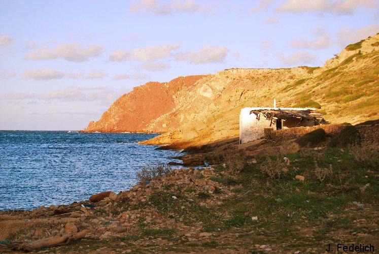 costa norte de menorca (fontanelles)