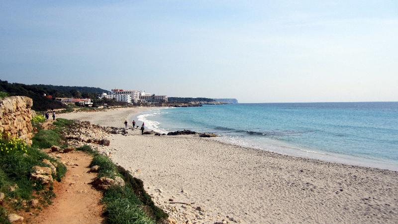Playa de Santo Tomas, Menorca